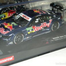 Slot Cars: BMW M4 RED BULL CARRERA EVOLUTION/SCALEXTRIC NUEVO EN CAJA. Lote 143338566