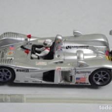 Slot Cars: SCALEXTRIC CADILLAC LMP NORTHSTAR DE HORNBY CON LUCES. Lote 143918830