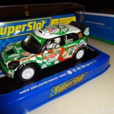 Slot Cars: SUPERSLOT. MINI COUNTRYMAN WRC Nº14. RALLY MONTECARLO 2012. P.NOBRE/E.PAULA. REF. H3523. Lote 144132222