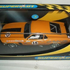 Slot Cars: FORD MUSTANG SUPERSLOT. Lote 144132330