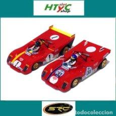 Slot Cars: OFERTÓN SRC PACK 2 X FERRARI 312 #30 1000 KM BUENOS AIRES 1972 PETERSON / #1 1000 KM MONZA 1972 ICKX. Lote 181191282