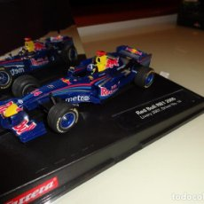 Slot Cars: CARRERA. F1 RED BULL RB1 2005. LIVERY 2007. DRIVER Nº 14. REF. 27182. Lote 144291406