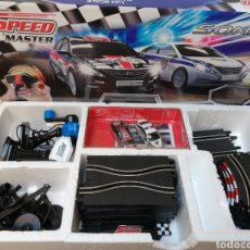 Slot Cars: SCALECTRIC SPEED MASTER. SONATA. DOS COCHES. Lote 144583933