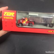 Slot Cars: TCR CAMIONES REMOLQUE MODEL-IBER NUEVO. Lote 145203192