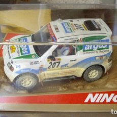 Slot Cars: MITSUBISHI PAJERO TT ARGOS DESERT DIRT. Lote 145520334