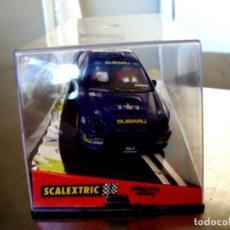 Slot Cars: SUBARU IMPREZA WRC ACROPOLIS 2001. Lote 145529666