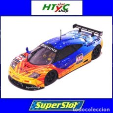 Slot Cars: SUPERSLOT MCLAREN F1 GTR #25 NURBURGRING 1997 VELAY / MAURY-LARIBIÈRE SCALEXTRIC UK H3917. Lote 145651542