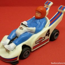 Slot Cars: TCR COCHE KART BLANCO, IDEAL TOY / MODEL-IBER 1980, MADE IN SPAIN. Lote 145794706