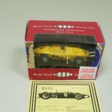 Slot Cars: J4-FERRARI SHARKNOSE 156 MRRC-BUM SLOT SERIE LIMITADA 200 UNIDADES TODO EL MUNDO. Lote 145968106