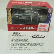 Slot Cars: J4- LOTUS CORTINA MRRC BUM SLOT SERIE LIMT 100 UNID TODO EL MUNDO CERTIFC 1994. Lote 145969286
