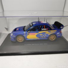 Slot Cars: AUTO ART SUBARU IMPREZA WRC 2004 SCALEXTRIC 1/24. Lote 146930525