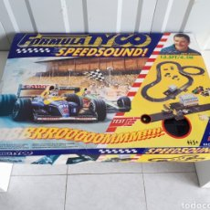 Slot Cars: PISTA DE COCHES FORMULA TYCO SPEED SOUND NIGEL MANSELL. Lote 147703234