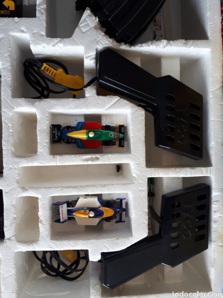 Slot Cars: Pista de coches FORMULA TYCO SPEED SOUND NIGEL MANSELL - Foto 4 - 147703234
