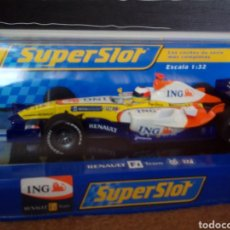 Slot Cars: RENAULT F1 FERNANDO ALONSO. Lote 147723804