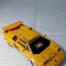 Slot Cars: COCHE SLOT LAMBORGHINI COUNTACH 5000 AMARILLO 1/43. Lote 148781098