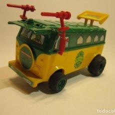 Slot Cars: PARTY VAN NINJA TURTLES SCX UK. Lote 222318187