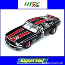 Slot Cars: SUPERSLOT FORD MUSTANG #3 TRANS AM 1972 JOHN GIMBEL SCALEXTRIC UK H4014. Lote 150248594