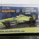 Slot Cars: MINARDI F1 MARC GENÉ FIRMADO SCALEXTRIC NO EXIN, NO NINCO NO TYCO. Lote 150258550