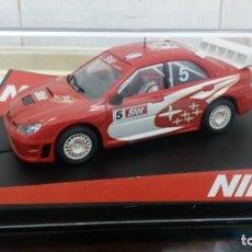 Slot Cars: SUBARU NINCO MAS SLOT NO SCALEXTRIC NO EXIN. Lote 150267150