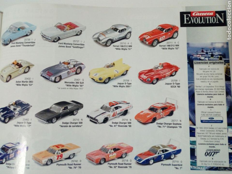 Slot Cars: CATALOGO 2004 / 2005 de CARRERA Evolution / Exclusiv - slot car - No Scalextric - Foto 3 - 150676658