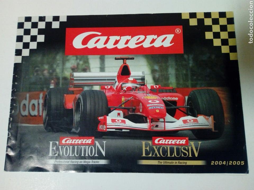 CATALOGO 2004 / 2005 DE CARRERA EVOLUTION / EXCLUSIV - SLOT CAR - NO SCALEXTRIC (Juguetes - Slot Cars - Magic Cars y Otros)