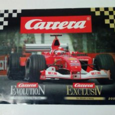Slot Cars: CATALOGO 2004 / 2005 DE CARRERA EVOLUTION / EXCLUSIV - SLOT CAR - NO SCALEXTRIC. Lote 150676658