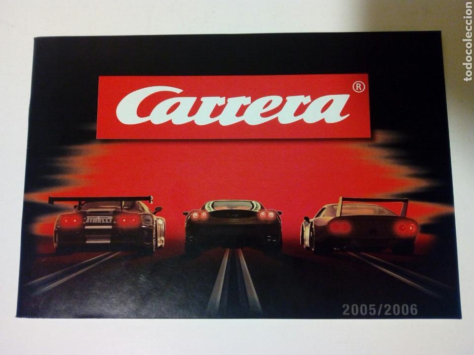 CATALOGO 2005 / 2006 DE CARRERA EVOLUTION / EXCLUSIV / GO!!! - SLOT CAR - NO SCALEXTRIC (Juguetes - Slot Cars - Magic Cars y Otros)
