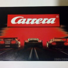Slot Cars: CATALOGO 2005 / 2006 DE CARRERA EVOLUTION / EXCLUSIV / GO!!! - SLOT CAR - NO SCALEXTRIC. Lote 150676930