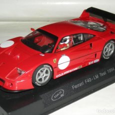 Slot Cars: FERRARI F40 LE MANS SLOT IT/SCALEXTRIC NUEVO. Lote 151520598