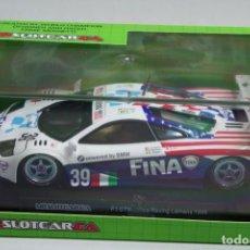 Slot Cars: SCALEXTRIC MRSLOTCAR MR1047 MCLAREN F1 GTR FINA. Lote 151610018