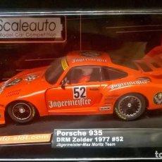 Slot Cars: PORSCHE 935 JAGERMEISTER DE SCALEAUTO. Lote 151663458
