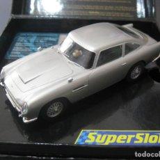 Slot Cars: ASTON MARTIN EDICION ESPECIAL GOLDENEYE DE SUPERSLOT. Lote 159282877