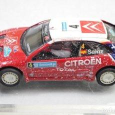 Slot Cars: SCALEXTRIC CITROEN XSARA WRC SAINZ. Lote 152172042