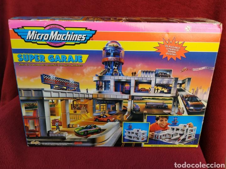 MICROMACHINES SUPER GARAJE 1995 (Juguetes - Slot Cars - Magic Cars y Otros)