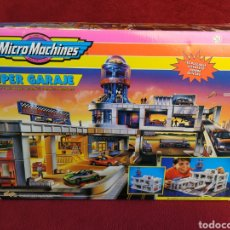 Slot Cars: MICROMACHINES SUPER GARAJE 1995. Lote 152173108