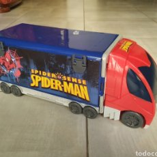 Slot Cars: CAMION SPIDERMAN PISTAS. Lote 148803010