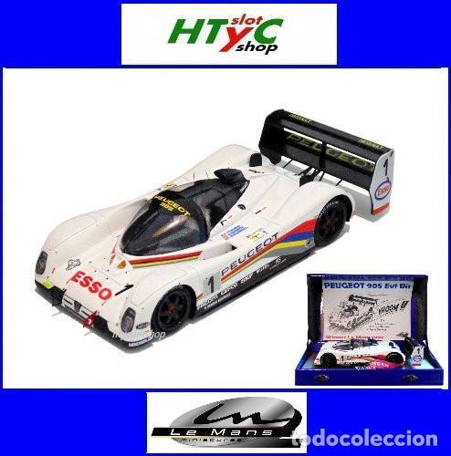 LE MANS MINIATURES PEUGEOT 905 EV1 #1 WINNER LE MANS 1992 DALMAS / WARWICK / BLUNDELL 132023EVO/1M (Juguetes - Slot Cars - Magic Cars y Otros)