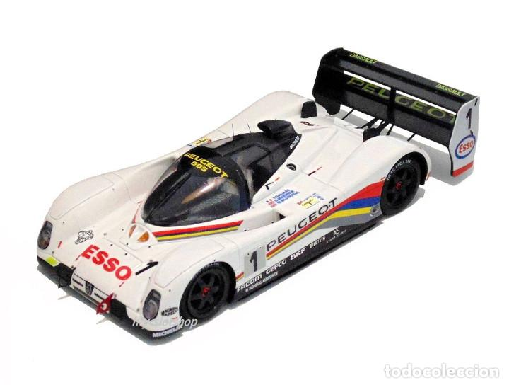 Slot Cars: LE MANS MINIATURES PEUGEOT 905 EV1 #1 WINNER LE MANS 1992 DALMAS / WARWICK / BLUNDELL 132023EVO/1M - Foto 2 - 152540718