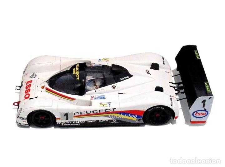 Slot Cars: LE MANS MINIATURES PEUGEOT 905 EV1 #1 WINNER LE MANS 1992 DALMAS / WARWICK / BLUNDELL 132023EVO/1M - Foto 3 - 152540718