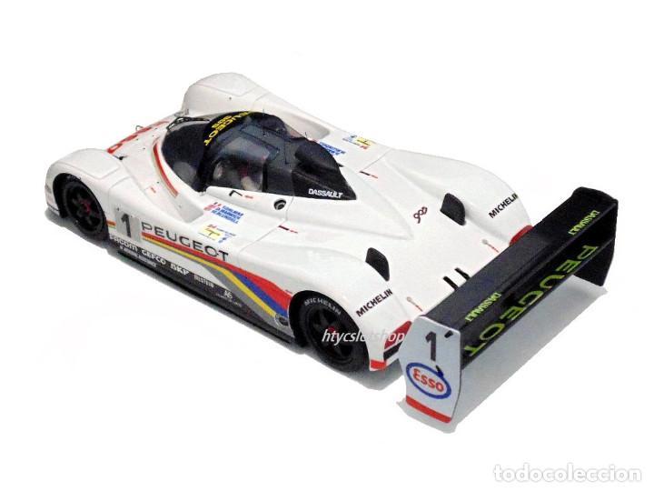 Slot Cars: LE MANS MINIATURES PEUGEOT 905 EV1 #1 WINNER LE MANS 1992 DALMAS / WARWICK / BLUNDELL 132023EVO/1M - Foto 4 - 152540718