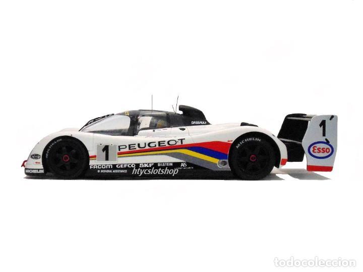 Slot Cars: LE MANS MINIATURES PEUGEOT 905 EV1 #1 WINNER LE MANS 1992 DALMAS / WARWICK / BLUNDELL 132023EVO/1M - Foto 6 - 152540718