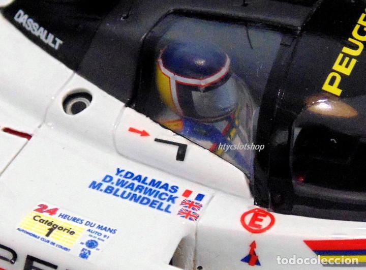 Slot Cars: LE MANS MINIATURES PEUGEOT 905 EV1 #1 WINNER LE MANS 1992 DALMAS / WARWICK / BLUNDELL 132023EVO/1M - Foto 9 - 152540718