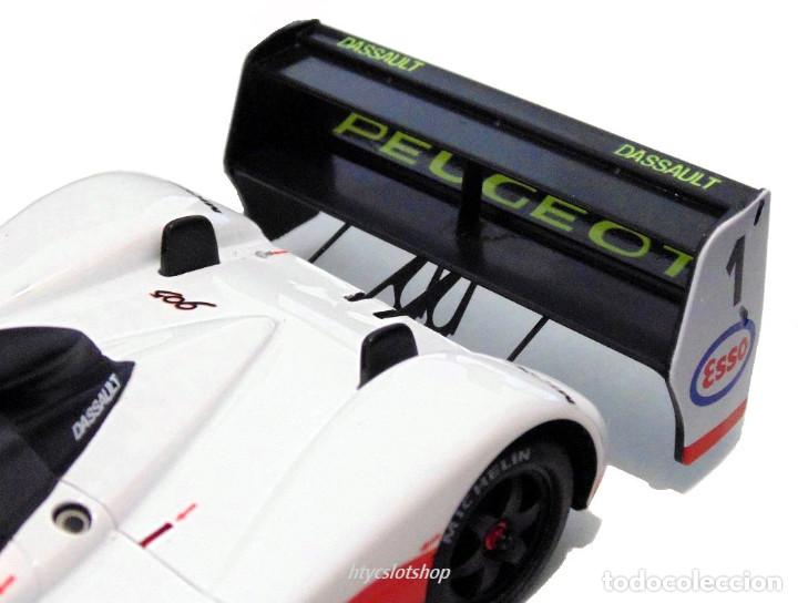 Slot Cars: LE MANS MINIATURES PEUGEOT 905 EV1 #1 WINNER LE MANS 1992 DALMAS / WARWICK / BLUNDELL 132023EVO/1M - Foto 10 - 152540718