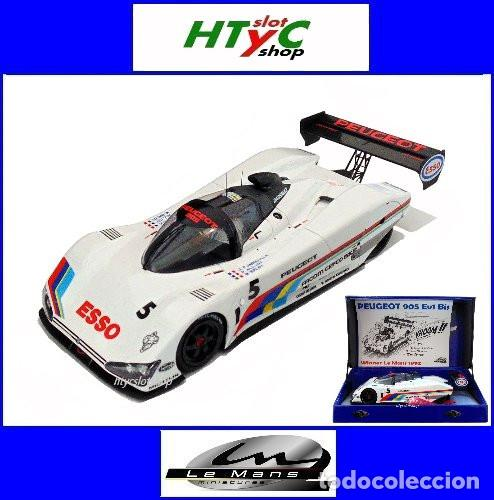 LE MANS MINIATURES PEUGEOT 905 #5 24 HS LE MANS 1991 BALDI / JABOUILLE / ALLOIT 132075/5M (Juguetes - Slot Cars - Magic Cars y Otros)