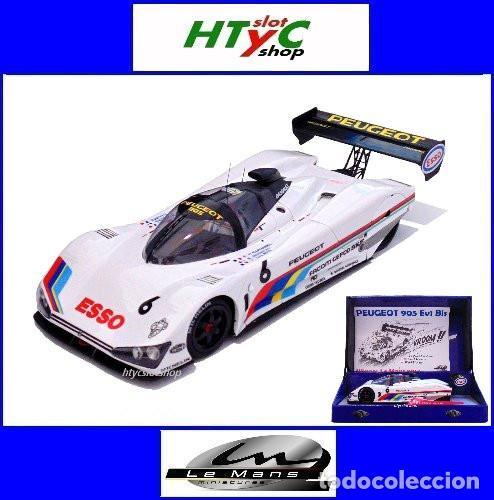LE MANS MINIATURES PEUGEOT 905 #6 24 H LE MANS 1991 ROSBERG / RAPHANEL / DALMAS 132075/6M (Juguetes - Slot Cars - Magic Cars y Otros)