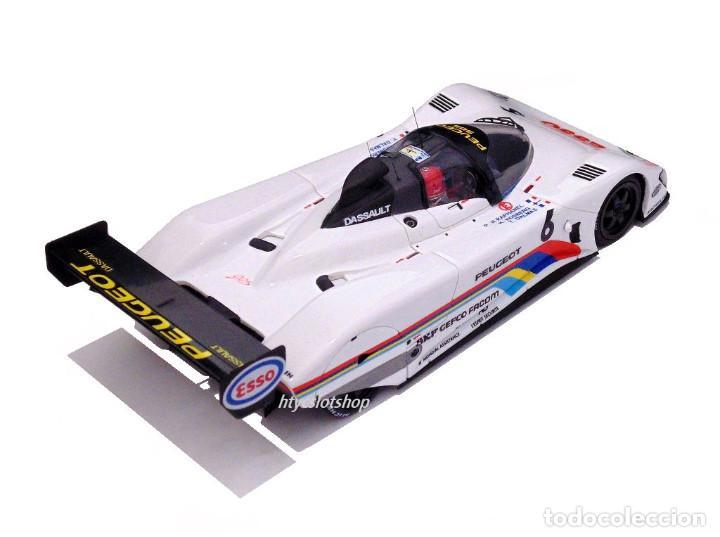 Slot Cars: LE MANS MINIATURES PEUGEOT 905 #6 24 H LE MANS 1991 ROSBERG / RAPHANEL / DALMAS 132075/6M - Foto 4 - 152751746