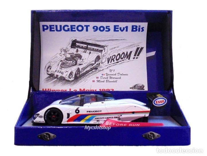 Slot Cars: LE MANS MINIATURES PEUGEOT 905 #6 24 H LE MANS 1991 ROSBERG / RAPHANEL / DALMAS 132075/6M - Foto 12 - 152751746