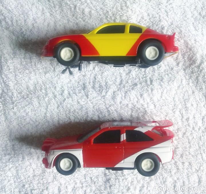 2 COCHES PARA PISTA. (Juguetes - Slot Cars - Magic Cars y Otros)