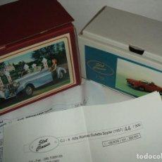 Slot Cars: CAJAS ORIGINALES DE SLOT CLASSIC CON SUS CERTIFICADOS DE LOS MODELOS CJ-4 Y CJ-33. Lote 153846854