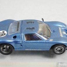 Slot Cars: (RESERVADO)SCALEXTRIC FORD GT 40 MARCA DESCONOCIDA. Lote 154001014